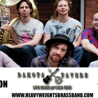 Heavyweights Brass Band on Wednesdays in April at The Dakota