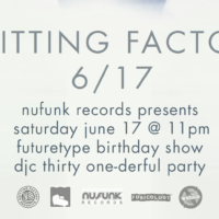 FutureType Birthday Party at Knitting Factory Brooklyn!