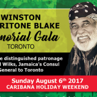 Honouring Merritone Blake at Memorial Gala
